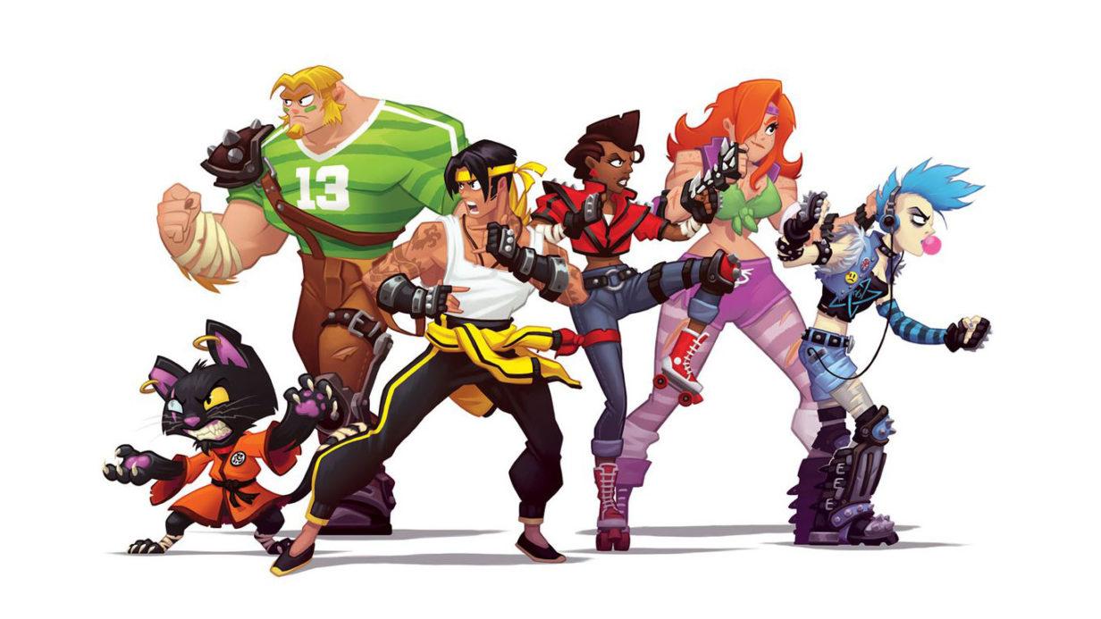 Illustration de Djib pour le jeu Double Rumble.