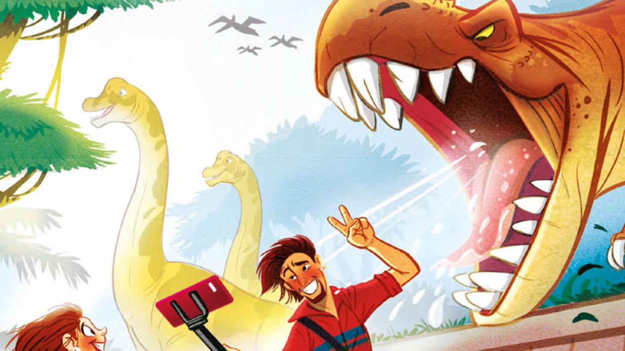 Recherche pour la couverture de boîte du jeu Draftosaurus