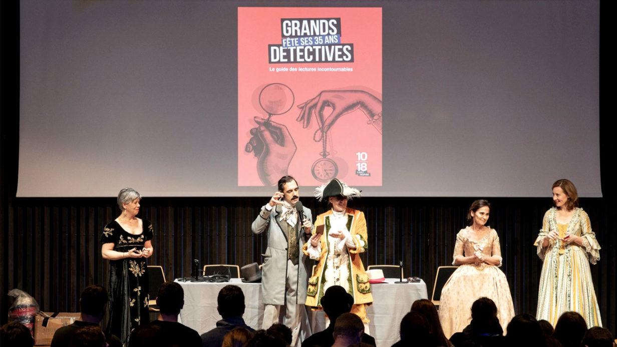 Jeu d'enquête géant organisé à la librairie Mollat de Bordeaux pour les éditions Pocket